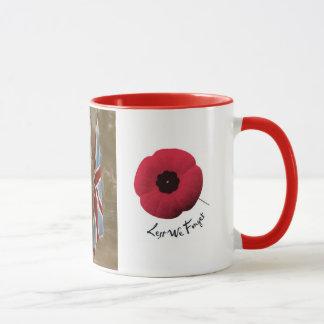 Caneca do tributo WW1. Nós recordá-los-emos