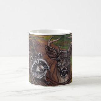 Caneca dos cervos do fanfarrão do GUAXINIM
