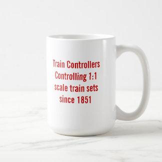 Caneca dos controladores do trem