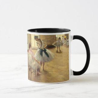 Caneca Edgar Degas a lição de dança