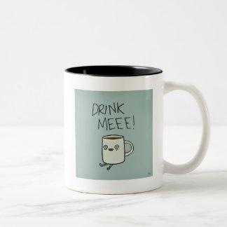Caneca em dois tons - KeepCalm and Drink a Coffee
