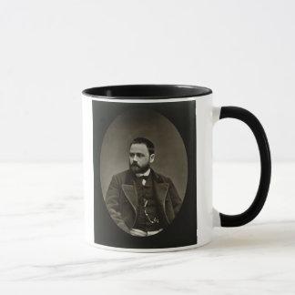 Caneca Emile Zola (1840-1902) 'de Galerie Contemporaine