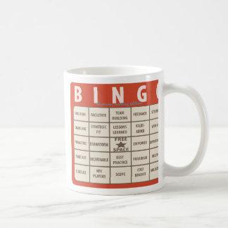 Caneca especial do escritório do Bingo das