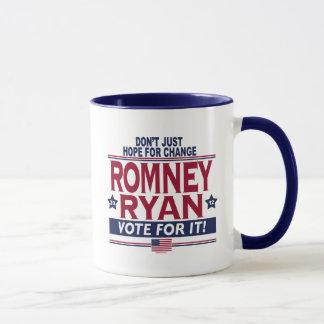Caneca Esperança real 2012 de Romney Ryan