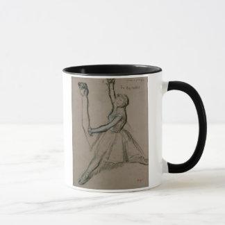 Caneca Estudo de Edgar Degas | de um dançarino