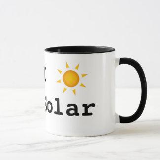 Caneca Eu amo a energia solar!