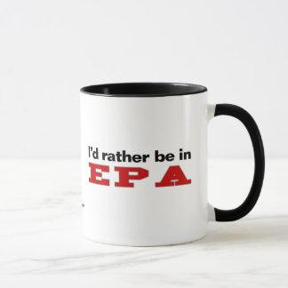 Caneca Eu preferencialmente estaria em EPA