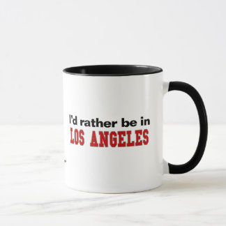 Caneca Eu preferencialmente estaria em Los Angeles