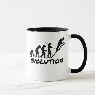 Caneca Evolução do esqui