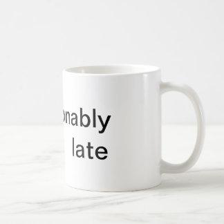 Caneca fabulosa da manhã do #fashionablylate