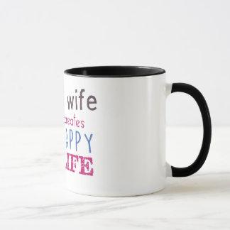 caneca feliz da esposa