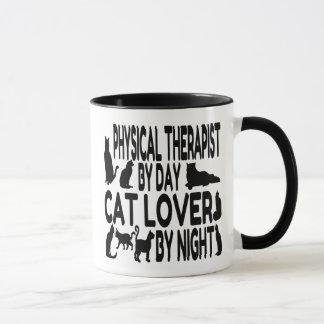 Caneca Fisioterapeuta do amante do gato