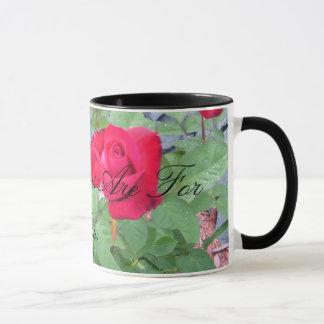 Caneca Flores para você