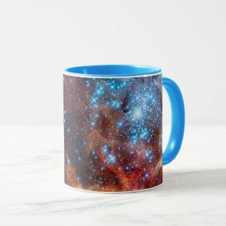 Caneca Foto estelar da NASA da nebulosa do Tarantula do