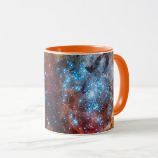 Caneca Foto estelar da NASA da nebulosa do Tarantula do