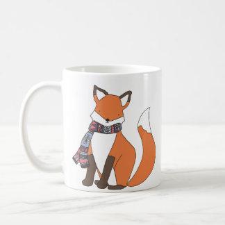 Caneca fria do Fox do inverno