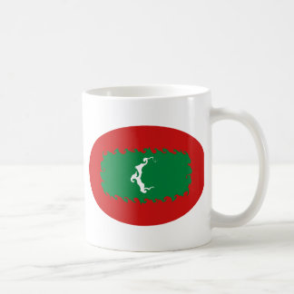 Caneca Gnarly da bandeira de Maldives