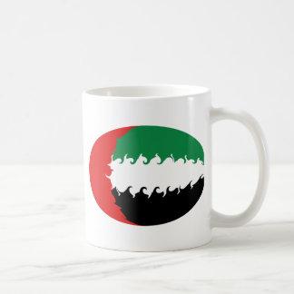 Caneca Gnarly da bandeira de United Arab Emirates