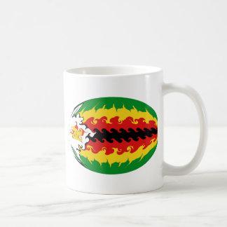 Caneca Gnarly da bandeira de Zimbabwe