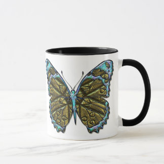 Caneca gravada da borboleta 3