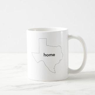 caneca home do estado de Texas