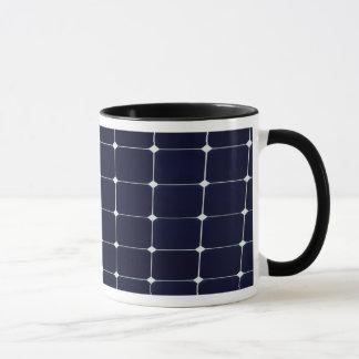Caneca Imagem de um painel de energias solares engraçado