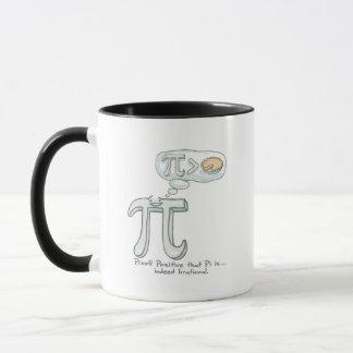 Caneca Impermeabilize que o Pi é irracional