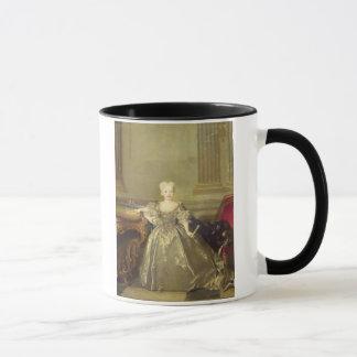 Caneca Infanta Maria Ana Victoria de Borbón, 1724 (óleo