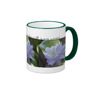 Caneca inspirada das citações da bondade da flor