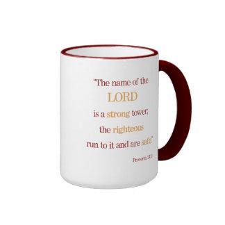 Caneca inspirada do 18:10 dos provérbio das