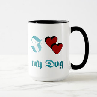 Caneca J Dog love my