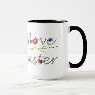 Caneca J Easter love