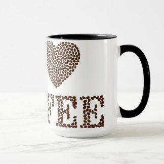Caneca J love coffee