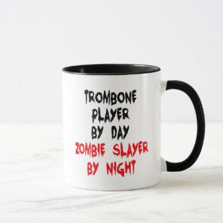 Caneca Jogador de Trombone do assassino do zombi