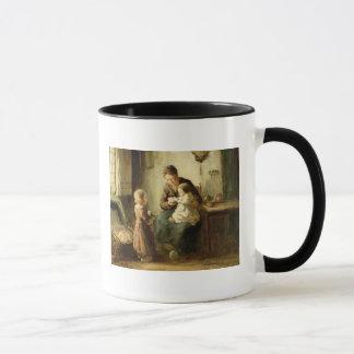 Caneca Jogando com bebê, século XIX