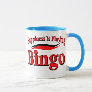 Caneca Jogando o Bingo