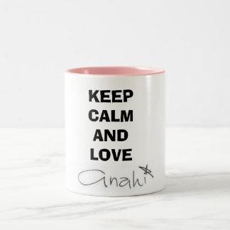 Caneca Keep Calm and Love Anahí