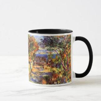 Caneca L'Estaque por Pierre Renoir, impressionismo do