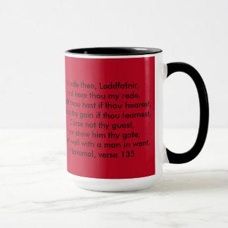 Caneca Logotipo da lareira de Nanna & copo de café de