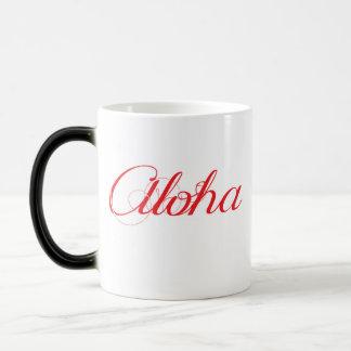 Caneca Mágica Havaí Aloha