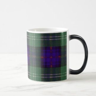 Caneca Mágica Tartan do Scottish da xadrez do clã de Keith