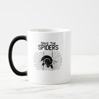 Caneca Mágica Traje da Web de aranhas das economias do Dia das