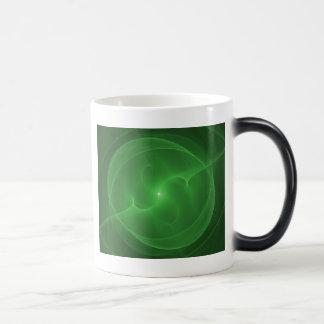 Caneca Mágica Verde da esfera da energia