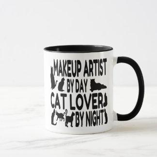 Caneca Maquilhador do amante do gato