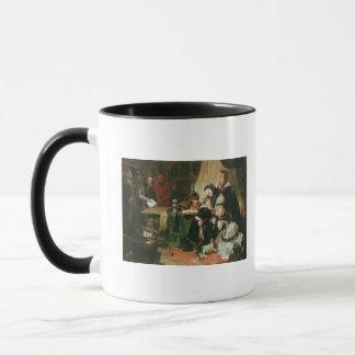 Caneca Marie Antoinette e suas crianças