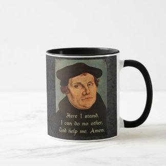 Caneca Martin Luther aqui eu estou a cotação
