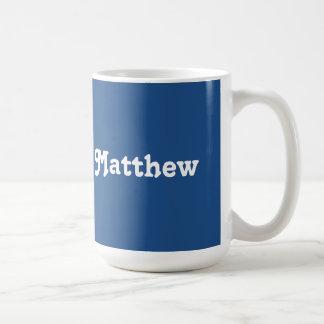 Caneca Matthew