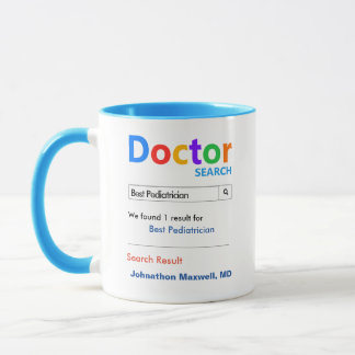 Caneca Melhor doutor feito sob encomenda engraçado