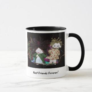 Caneca Melhores amigos para sempre - BFFs