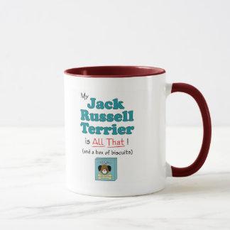 Caneca Meu Jack Russell Terrier é todo o isso!